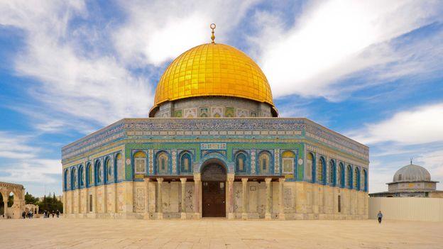 Jerusalem's Temple Mount (Credit: Credit: Michael Hodson)