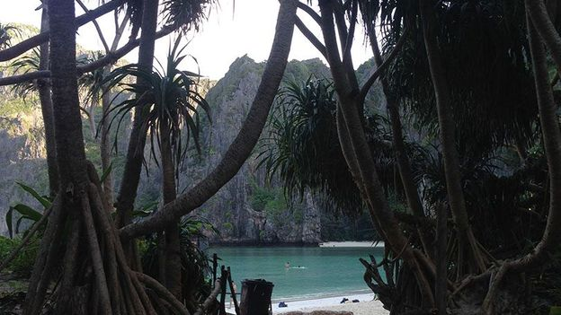 Exploring Maya Bay, without the crowds (Credit: Credit: Colleen Hagerty)
