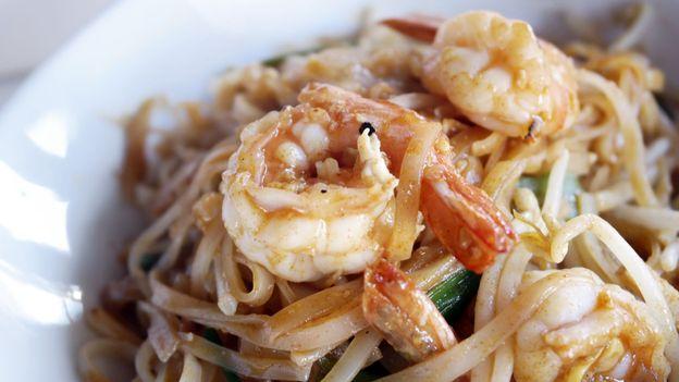 Pad Thai with shrimp (Credit: Credit: Roy Hsu/Getty)