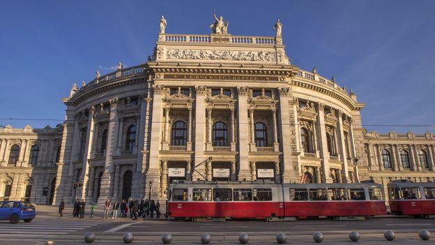 The exterior of the Burgtheater (Credit: Credit: Joe Klamar/AFP/Getty Images)