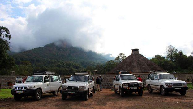 Traveling to Bale Mountain Lodge (Credit: Credit: Pamela Robbie)
