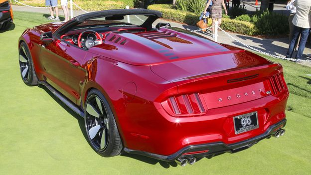 New cars, hobnobbing with the old (Credit: Credit: Galpin Ford/Henrik Fisker)