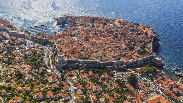 Old Town Dubrovnik nests within the city's walls (Credit: Credit: OPIS/Thinkstock)