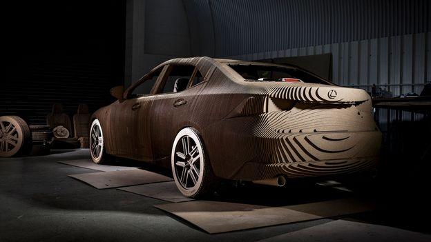 Lexus Origami Car (Credit: Credit: Lexus)