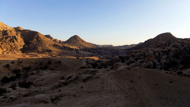 The sun starts to set over Jordan's desert (Credit: Credit: Will Jehring)