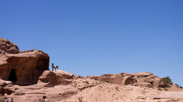 Most cave-dwellers have been forced out of Petra (Credit: Credit: Will Jehring)