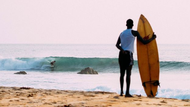 Robertsport, Liberia is home to some of the best surf in the world (Credit: Credit: Alphanso Appleton)