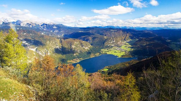 In the Julian Alps, Lake Bohinj was once cut off from the rest of the world (Credit: Credit: Marco_Coppo/Slovenian Tourist Board)