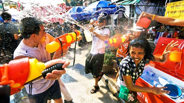 The world's biggest water fight (Credit: Credit: Kevin Foy/Alamy)