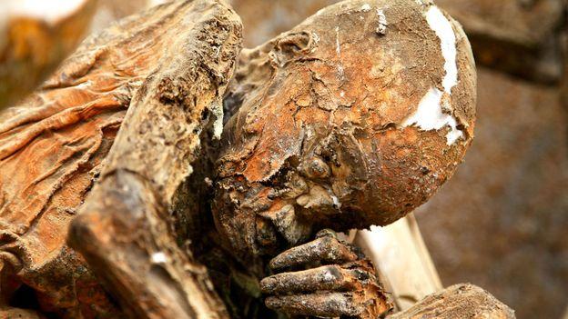 The dead's characteristics come alive through the preservation method (Credit: Credit: Ian Lloyd Neubauer)