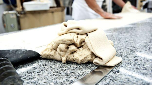 The dough for mpanatigghi biscuits, a traditional Modicani take on the classic empanada (Credit: Credit: Antica Dolceria Bonajuto)