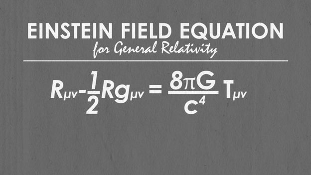 BBC - Earth - The most beautiful equation is… Einstein's field equation