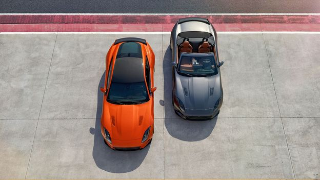 Jaguar F-Type SVR Coupe and Convertible