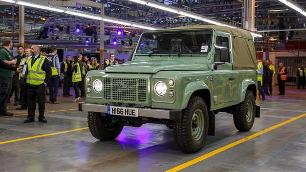The final Defender, 29 January 2016