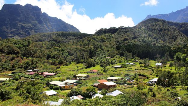 The villages of Cirque de Mafate are cut off from the rest of the world (Credit: Credit: Christopher F Schuetze)