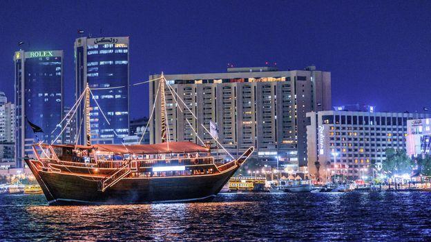 The Al Mansour Dhow – one of Dubai's oldest dhows