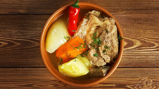 Khashlam is a stew of boiled lamb and vegetables (Credit: Credit: Alexander Mychko/Alamy)
