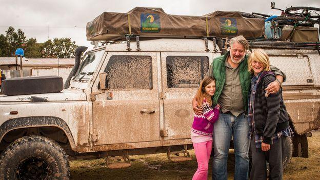 Jessica, Graeme and Keelan in Bolivia, 2015