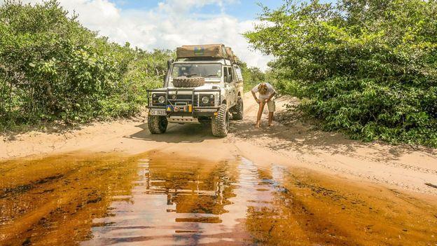 Crossing Brazil's Lençóis Maranhenses National Park, 2014
