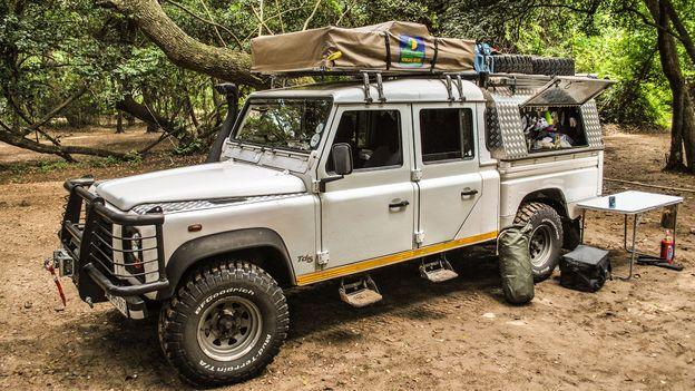 Camping in Tanzania, 2010