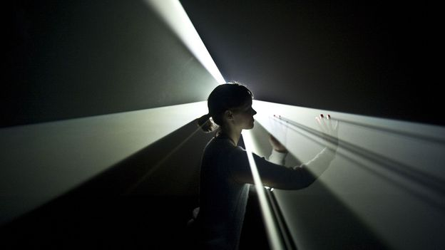 The radiant beauty of art made from light