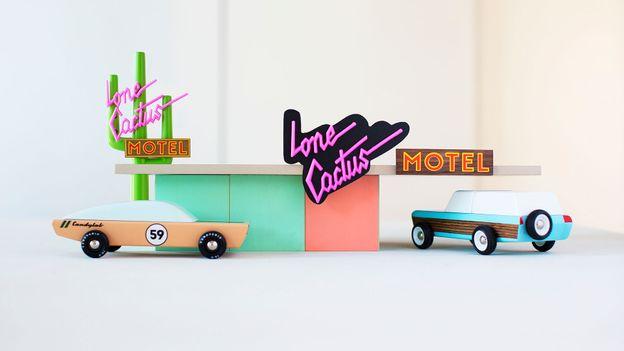 Candylab Toys' road-trip series (Credit: Credit: Candylab Toys)