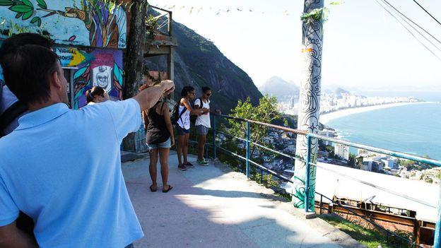 Overlooking Rio's skyline (Credit: Credit: Google)