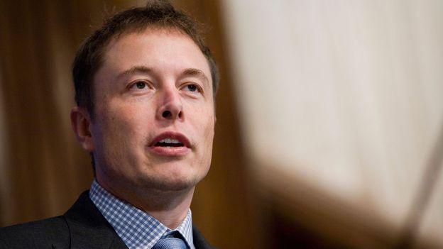 Elon Musk, CEO of Tesla and SpaceX (Credit: Kristoffer Tripplaar/Alamy)
