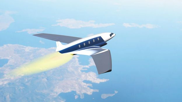 What a 16,000mph airliner might look like