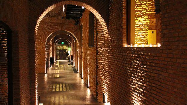 bricked tunnels