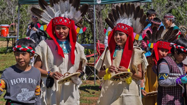 The Hopi people, who are descendants of the Sinagua, still observe the daily movement of the sun (Credit: Credit: Deborah Lee Soltesz/U.S. Forest Service Coconino National Forest)