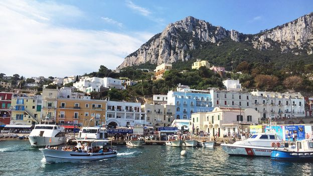 Capri's south-western coast is a 'shadow zone', with no mobile signal or GPS (Credit: Credit: Eliot Stein)