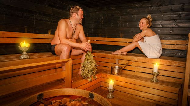 Finnish sauna culture shows the Finns have no problem getting personal (Credit: Credit: ARCTIC IMAGES/Alamy)
