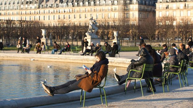 In France, people are perfectly content just to be (Credit: Credit: Jeff Gilbert/Alamy)