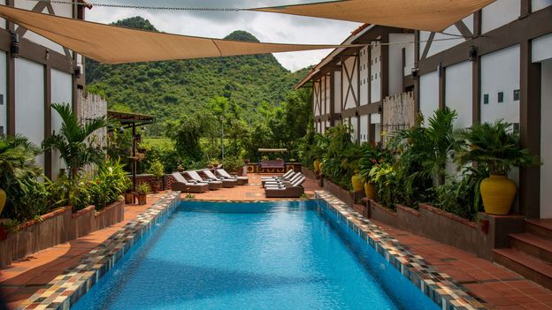 Nearly all of the guesthouses in the Phong Nha-Ke Bang National Park are run by locals, and there are no major resorts yet (Credit: Credit: Kim I Mott)