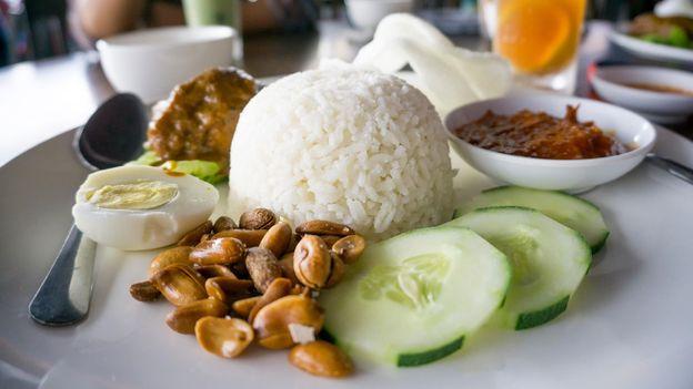 Nasi lemak is Malaysia's (unofficial) national dish (Credit: Credit: Nokuro/Alamy)