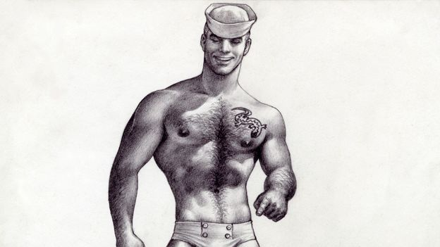 The sexed-up cartoon hunks that defined gay culture