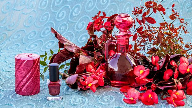 The tradition of kolonya derives from rose water and it is a mixture of ethanol, essential oils and natural fragrances (Credit: Sebahat Dogen/Getty Images)