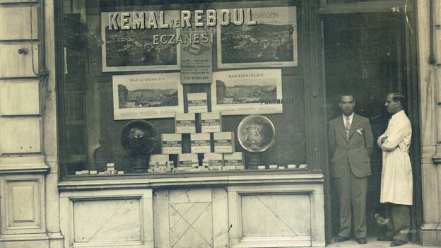 Atelier Rebul, one of the oldest and most famous kolonya brands in Turkey, first opened on the streets in Istanbul in 1895 (Credit: Atelier Rebul)