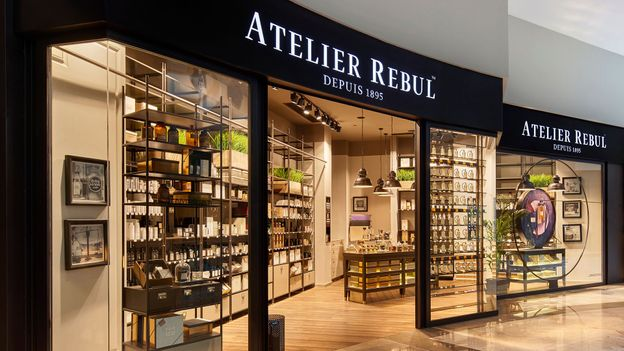 In the last decade, Turkey's top kolonya brands have opened up more high-end retail stores (Credit: Atelier Rebul)