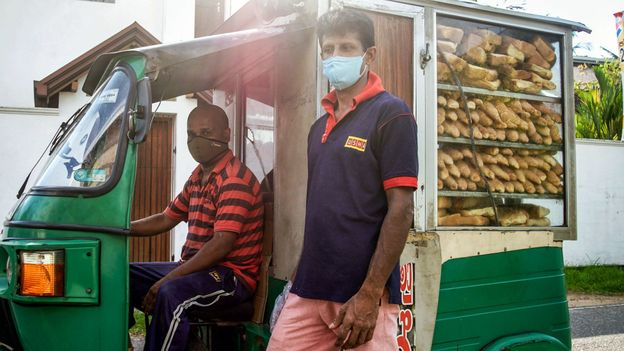 """Sri Lanka's choon paan trucks have recently been deemed """"essential"""" by the government and returned to the island's streets (Credit: Credit: Kaveen Rodrigo)"""