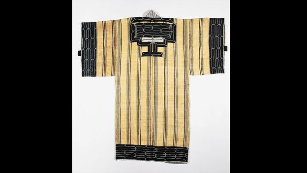 Traditional Ainu clothing was made with animal or fish skin, or woven with tree bark or nettle fibres (Credit: Credit: DeAgostini/Getty Images)