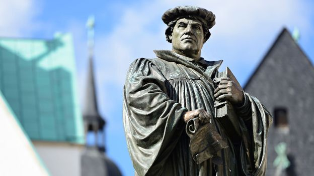"""The German idea that """"There must be order"""" goes back roughly 500 years to Martin Luther (Credit: Credit: AVTG/Getty Images)"""
