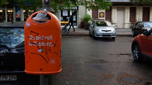 """""""Ordnung"""" is everywhere in Germany, but Germans selectively choose when and where to be disorderly (Credit: Credit: Joe Baur)"""