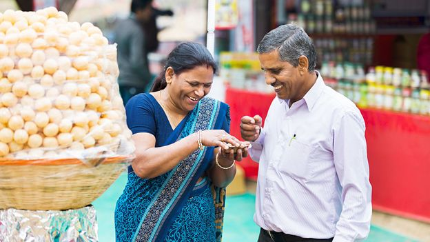 Pani puri occupies a special place in Indian hearts and stomachs (Credit: Credit: Visuals Stock/Alamy)