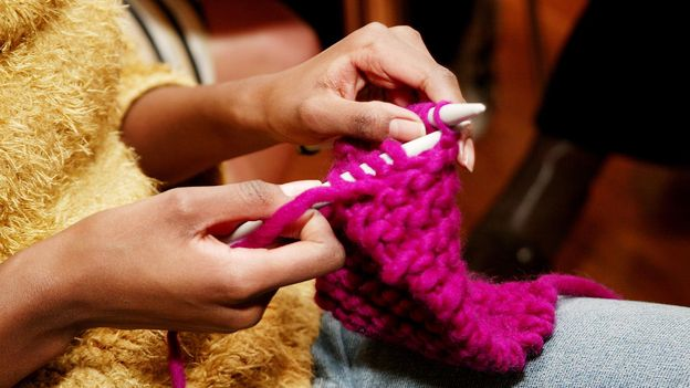 How knitting became cool