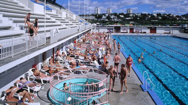 Reykjavík's Laugardalslaug pool reopened in May after two months of closure (Credit: Credit: Nordicphotos/Alamy)