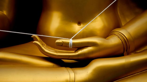 The baci ritual incorporates practices from Theravada Buddhism, Brahmanism and animism (Credit: Credit: Eric Lafforgue/Alamy)