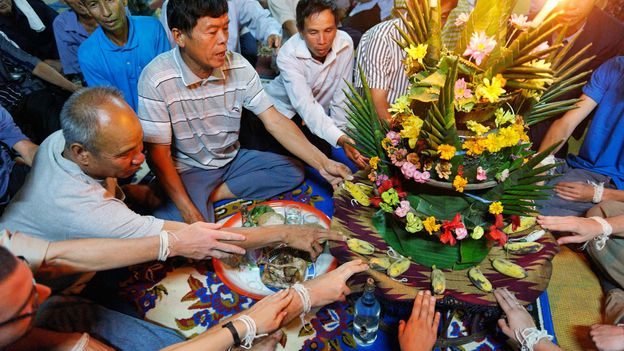 In Laos, bonds with others are literally crucial for people to feel well (Credit: Credit: Hemis/Alamy)