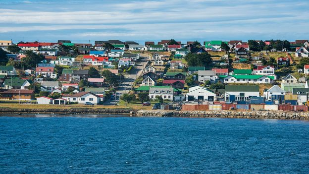 As more people relocate to the Falklands' capital, Stanley, vegetable plots are disappearing (Credit: Credit: Westend61/Getty Images)